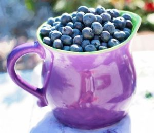 Blueberries, fruits that boost immune system