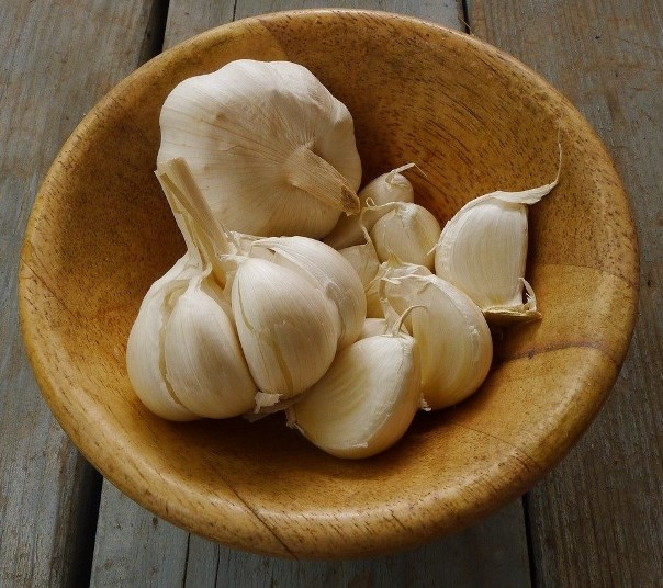 Garlic, , great for a weak immune system