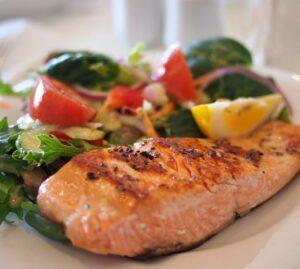 salmon, oily fish